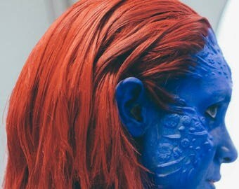 New Mystique like latex facial prosthetics, highly detailed