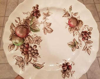 "Johnson Brothers Harvest Time 10"" Dinner Plate"