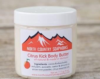 Citrus Kick Body Butter - vegan, 100% cruelty free