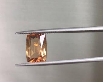 3.5ct Imperial Topaz Natural Gemstone.