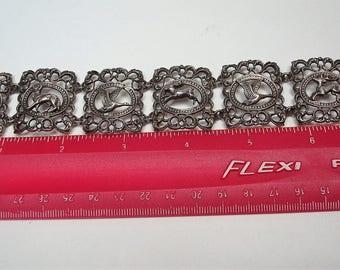 Vintage BAS 835 Silver Bracelet by Blachian Antik Schmuck of Germany 32grams