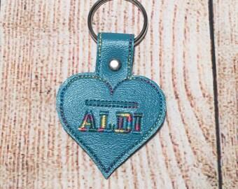 Aldi Quarter Keeper Keychain