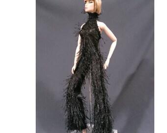 Dolls jumpsuit for Barbie,Tall barbie, FR,Silkstone,Vintage barbie- No.606