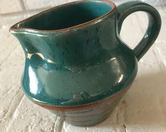 Small Handmade Ceramic Pitcher