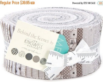 Anniversary Sale Behind the Scnes Jelly Roll 40 2.5-inch Strips Moda Fabrics~Fast Shipping,JR339