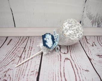 Baby lollipops baby blanket lollipop unique baby shower decorations shower centerpiece new baby boy gift baby shower gift gender reveal idea