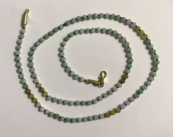 Gorgeous jade beads necklace
