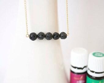 Lava Rock Essential Oil Jewelry Diffuser
