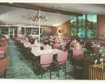 1950s Chrome Postcard- Interior View of Ruth's Oven Restaurant, Colorado Springs, El Paso County, Colorado, CO. ~ Free Shipping
