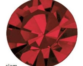 siam flatback crystals/rhinestones - one gross