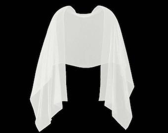 Scarf silk or silk scarf has paint 180 x 55 cm