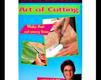 How to Cut Stained Glass DVD, Cutting Techniques for Stained Glass, Stained Glass Instructional DVD, Vickie Payne Soldering DVD