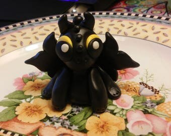 Handmade Toothless Inspired Dragon Sculpture Cake Topper Dragon Fantasy Magic Mystical Figurine
