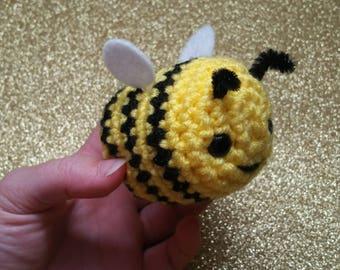 Save the Bees! - Honey Bee Plush, Bee Doll, Bee Amigurumi