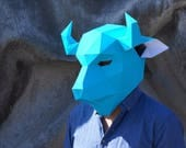 Bison Mask - Build your own using simple PDF download