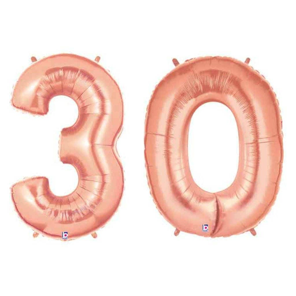 30th Birthday Giant 30 Balloon 30 Party Decoration Dirty