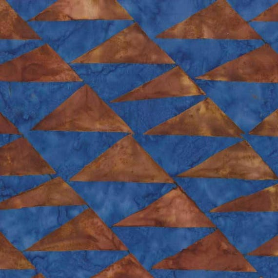 FLAGS Brown ARTISAN Batik Kaffe Fassett Sold in 1/2 yd increments
