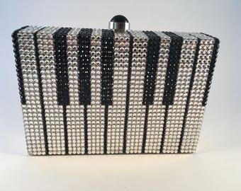 Swarovski Crystal Handbag - Keyboard Design