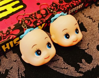 Doll Head earrings