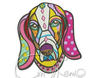 MACHINE EMBROIDERY DESIGN - Mexican dog, Dia de los muertos, Mexican design, Halloween design, calavera dog, Day of the dead