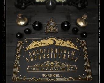 Lunar Filigree Spirit Board - Ouija Board - Full Size