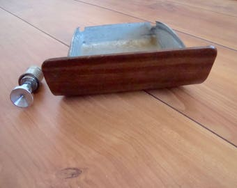 68 Camaro Ashtray and Cigarette Lighter-Walnut-Used