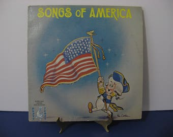 Bumble Gum Singers Orchestra - Songs Of America - Circa 1960's