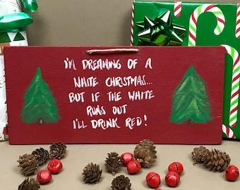 Wine Christmas Gift, Wine Gifts, Wine Christmas Decoration, Wine Lover Gift, Wine Decor,  Wine Sign, Wine Christmas Sign, Wine Gift