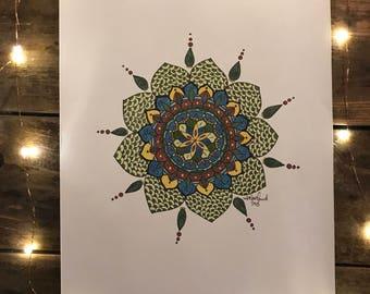 Untitled Original work // 2014 ink mandala