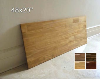 48x20 Spruce Wood Table Top, Tabletop, Wood Desk Top, DIY Table, Desk