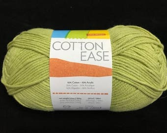 Lion Brand Cotton Ease - Lime