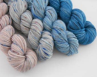 LOVE SOCK,  Mix n 6, merino nylon sock yarn, 5*20g