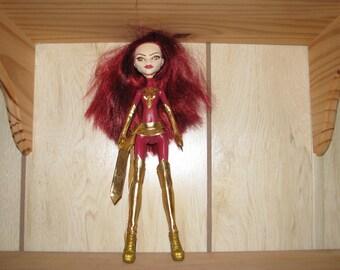 Dark Phoenix Doll OOAK