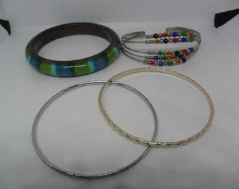 1 bag of 4 bangles for special gift for special friend or yourself