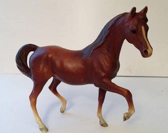ON SALE Vintage Molded Plastic BREYER Horse