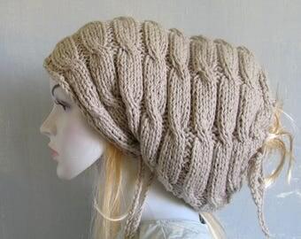 Dreadlock Headband Tube Hat Head Wrap Women Hat Plain Wide Hair Accessory Dreadlocks Women Knit Hat Hand Knit Hat Ladies Hat Dread Beanie
