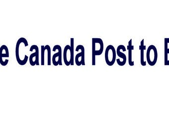 Upgrade mail service to Canada Post Express