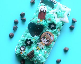 Tokyo Ghoul Mint Choco Chip Deco Case  - iPhone 6/6s