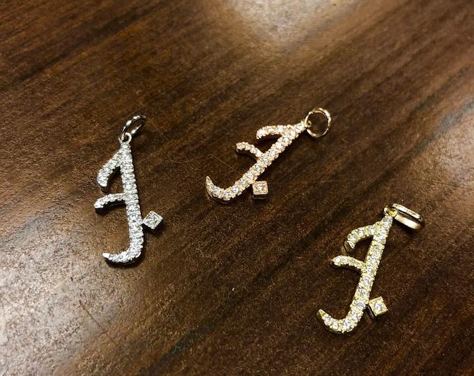 "Diamond ""Falling in Love"" Necklace in 14k Gold"