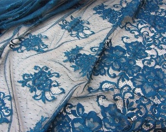 Pine lace fabric ,pine Chantilly lace fabric sold by yard,wedding Lace trim,150cm Eyelash lace for lace dress