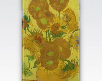 Case for iPhone 8, iPhone 6s,  iPhone 6 Plus,  iPhone 5s,  iPhone SE,  iPhone 5c,  iPhone 7  - Sunflowers by Vincent Van Gogh