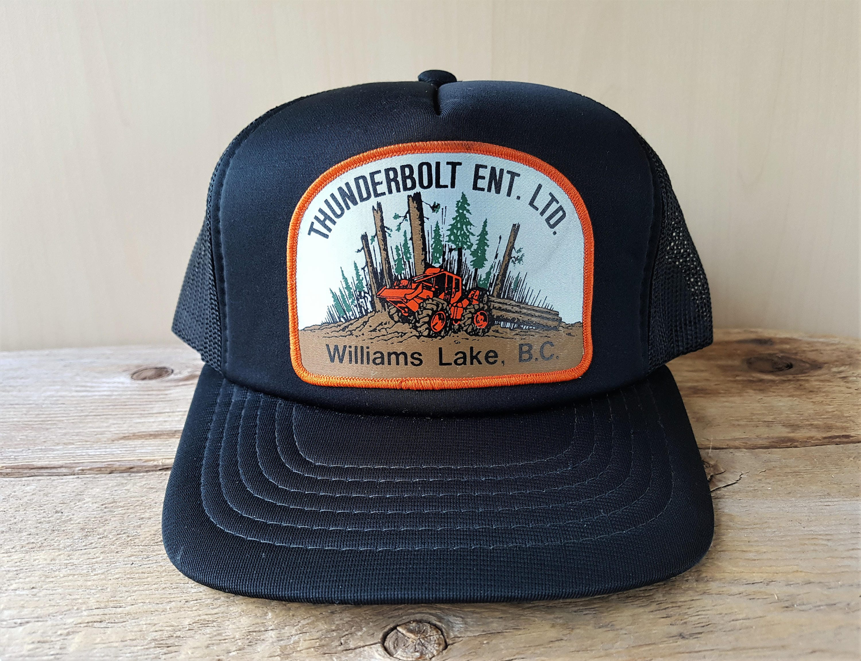 THUNDERBOLT Enterprises Ltd. Logging Williams Lake BC Vintage 80s ...