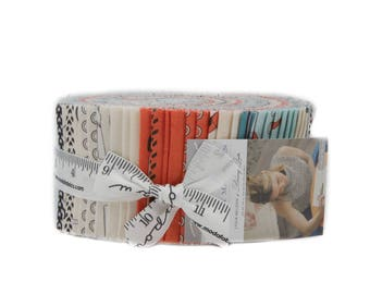 SALE - Might Machines Jelly Roll by Dream Quilts for Moda, Precuts, Fabric for Men and Boys, IN STOCK