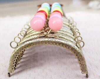 2pcs. 12cm purse frame purse clasp clutch frame metal purse frame purse making supplies wholesale(hw)