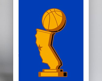Limited Edition Basketball Championship 2017 - MINIMALIST ART PRINT (14X20 Inches)