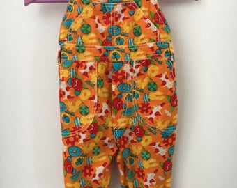 Vintage summer garden pants, dungarees, s