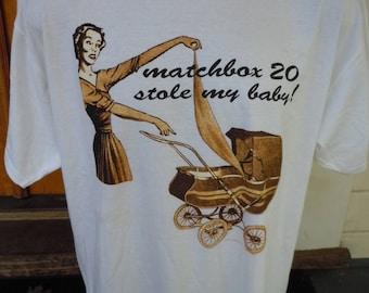 Size XL (50) ** 1997 Matchbox 20 Concert Shirt (Double Sided) (Deadstock Unworn)