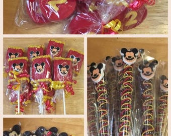 Mickey Mouse Favor party package
