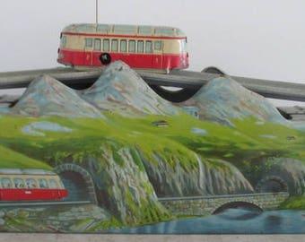 tin toy  Albulabahn  Moutain Express train technofix