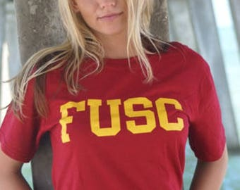 FUSC Cardinal Gold T-Shirt
